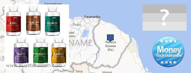 哪里购买 Steroids 在线 French Guiana