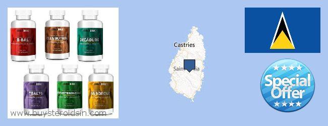 哪里购买 Steroids 在线 Saint Lucia