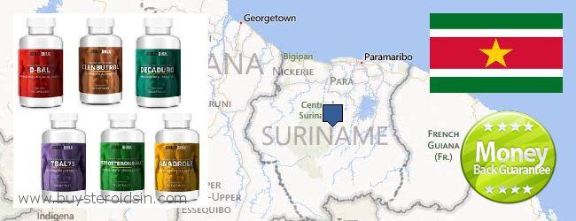 哪里购买 Steroids 在线 Suriname