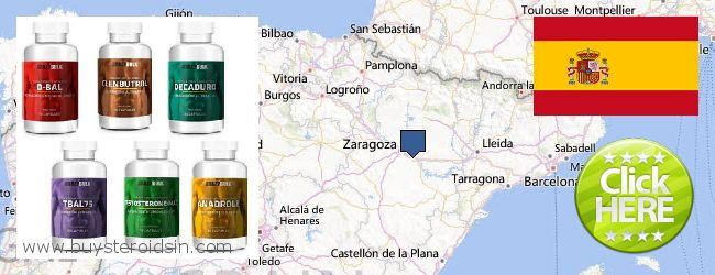 Where to Buy Steroids online Aragón, Spain