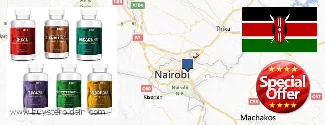 Where to Buy Steroids online Nairobi, Kenya