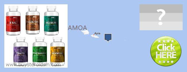 Var kan man köpa Steroids nätet American Samoa