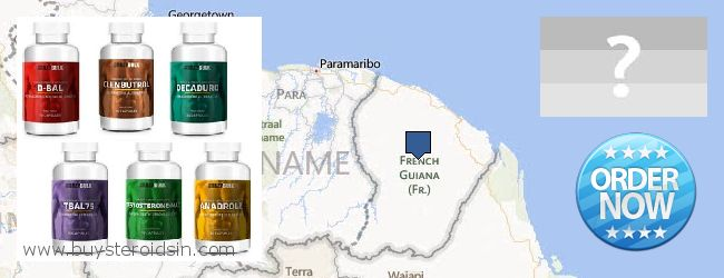 Var kan man köpa Steroids nätet French Guiana