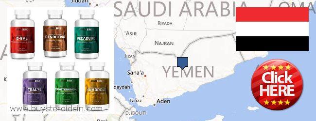 Var kan man köpa Steroids nätet Yemen