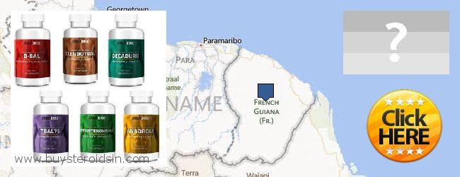 Waar te koop Steroids online French Guiana