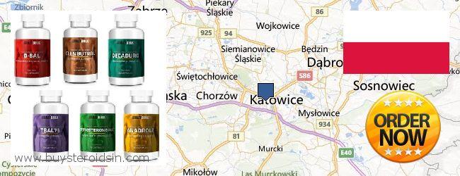 Where to Buy Steroids online Katowice, Poland